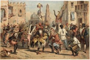 esclavos sambando